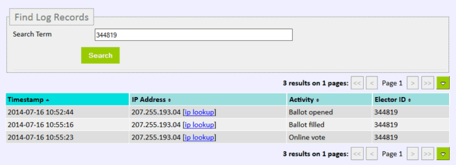 Logging Voter Activity   Simply Voting